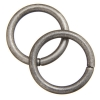 Jump Ring 20mm - Thick 2.6mm Antique Silver
